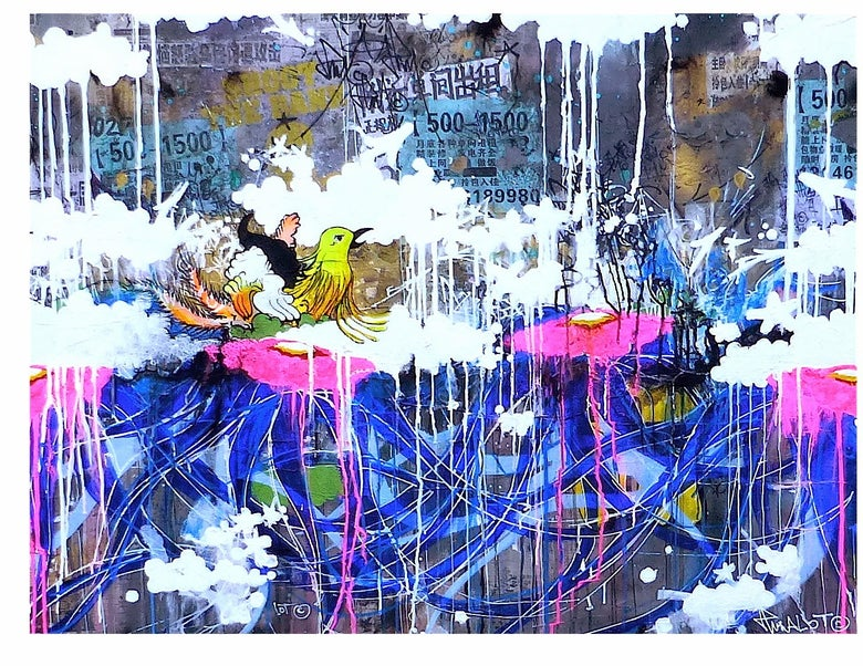 Image of JP MALOT Back From Beijing. 80x120 cm.