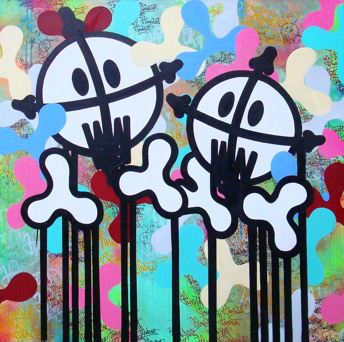 Image of Streets Ghosts 100x100 cm 2011