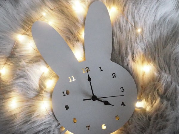 Image of Bunny Clock