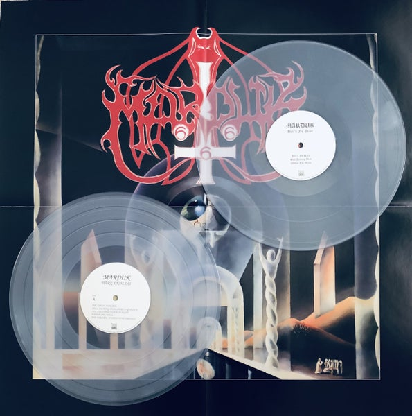 Image of Marduk - Dark Endless (25th anniversary edition) Gatefold Clear 2LP & Poster