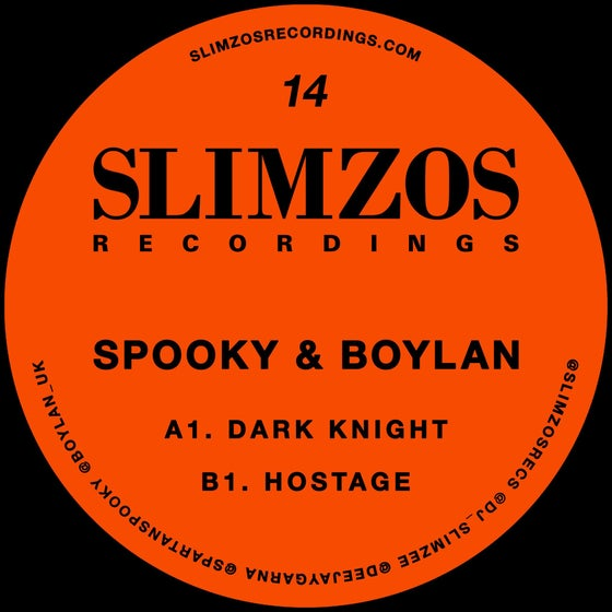 Image of Slimzos 014 Vinyl (Now in stock!)