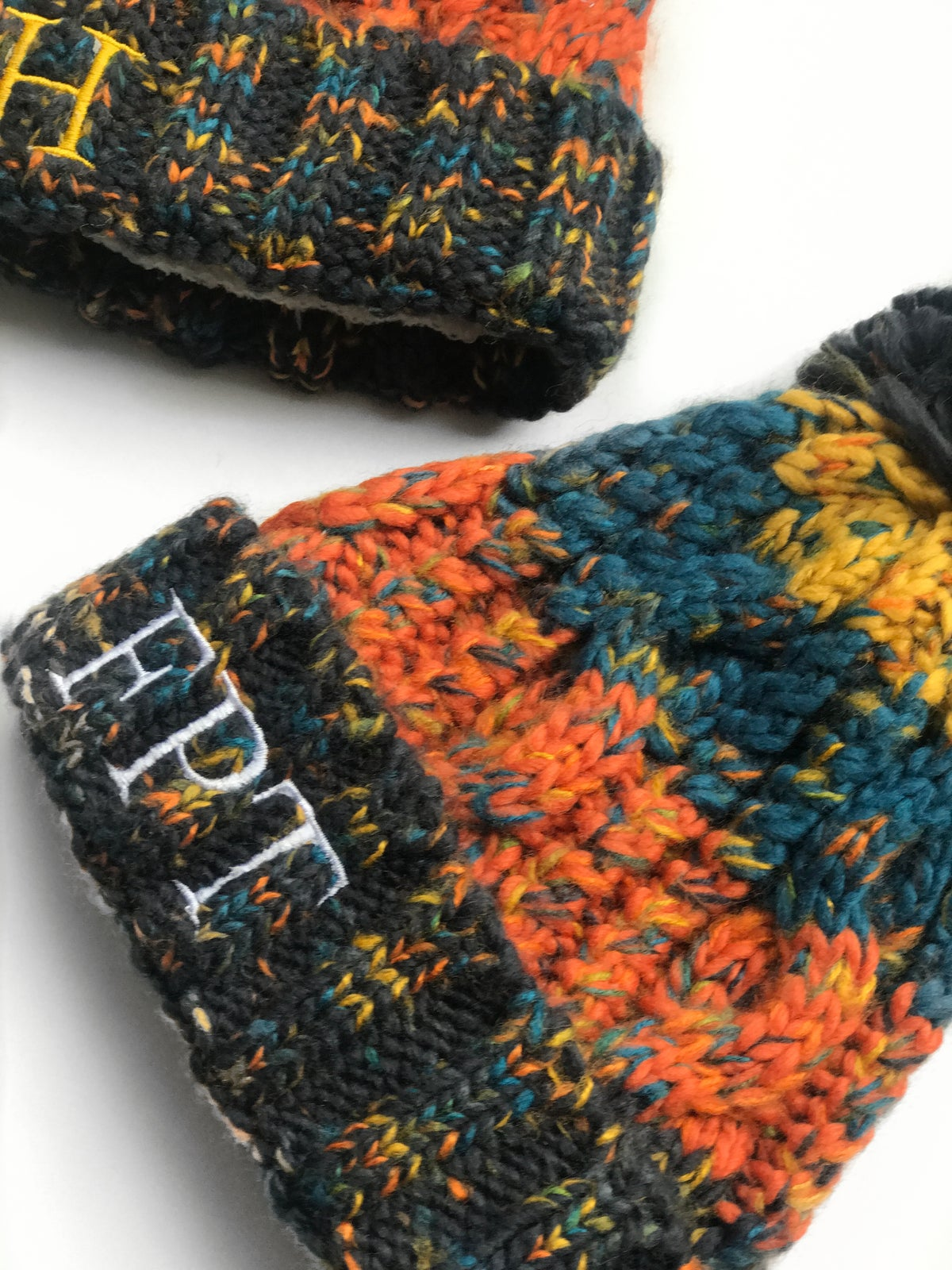 Image of MULTI COLOURED INITAIL HATS