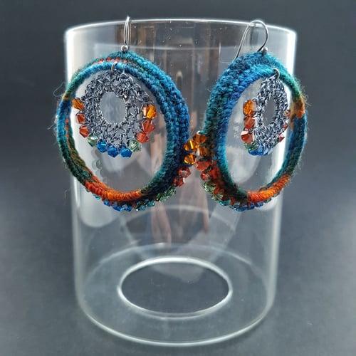 Image of BOLLYWOOD HOOPS - Ocean Jewels