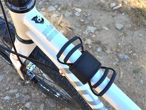 Image of Backcountry Super 8 top tube mount, black only