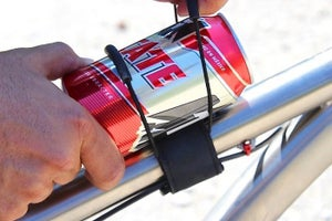 Image of Back Country Super 8 top tube mount, black only