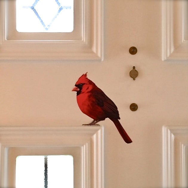 Image of Wolsey Cardinal ~ Wall decal