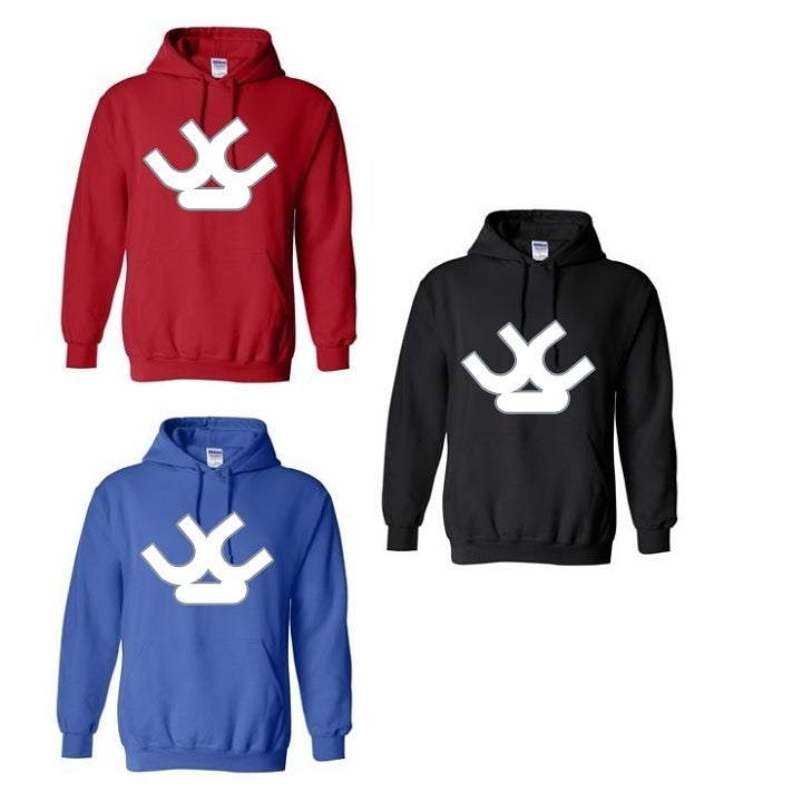 Image of UC hoodies (S - 4XL black, red & blue)