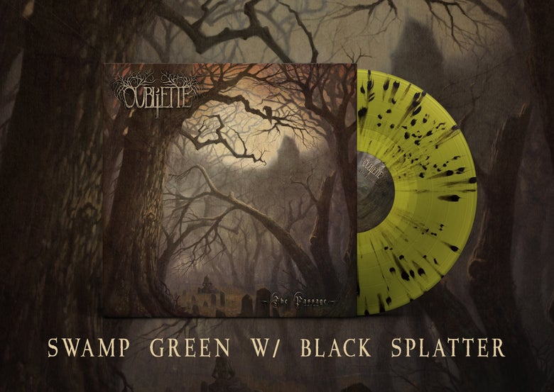 Image of  OUBLIETTE - The Passage - Green/Black Splatter LP