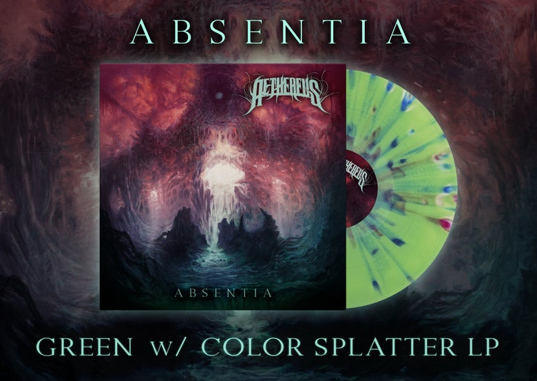 Image of AETHEREUS - Green w/Color Splatter - LP