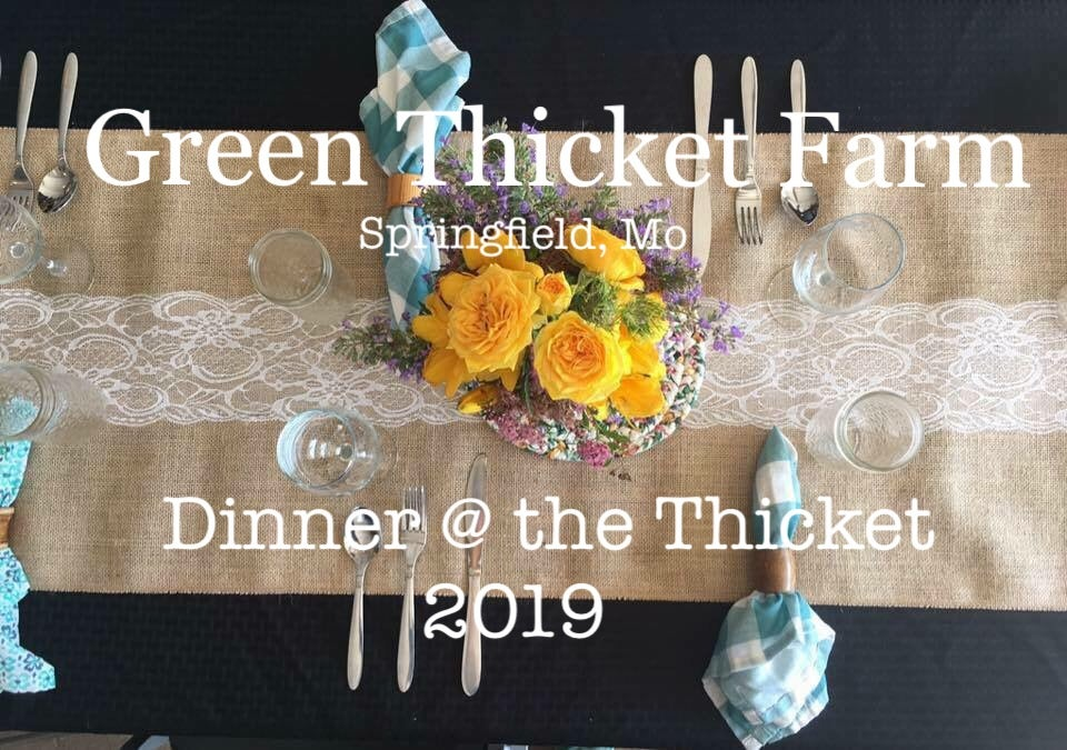 Image of Dinner @ the Thicket 2019