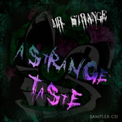 Image of 'A Strange Taste' Mr. Strange Sampler CD