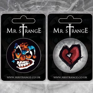 Image of Mr. Strange Button Badge