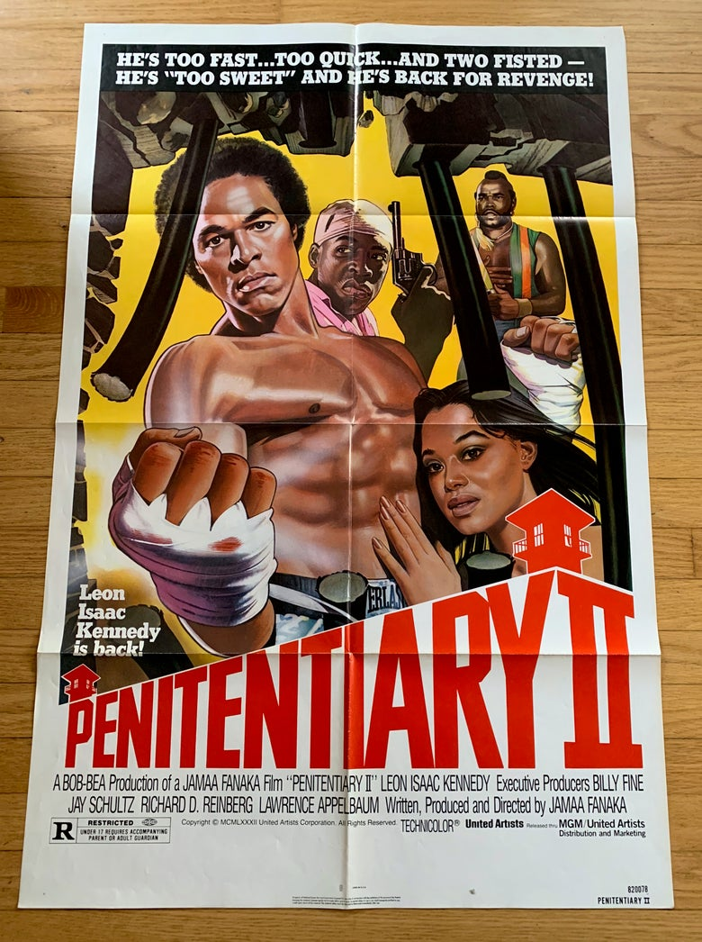 Image of 1982 PENITENTIARY II Original U.S. One Sheet Movie Poster