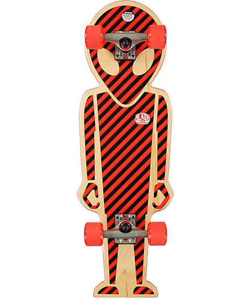 "Image of Alien Workshop Soldier 32"" Shaped Cruiser Complete Skateboard"