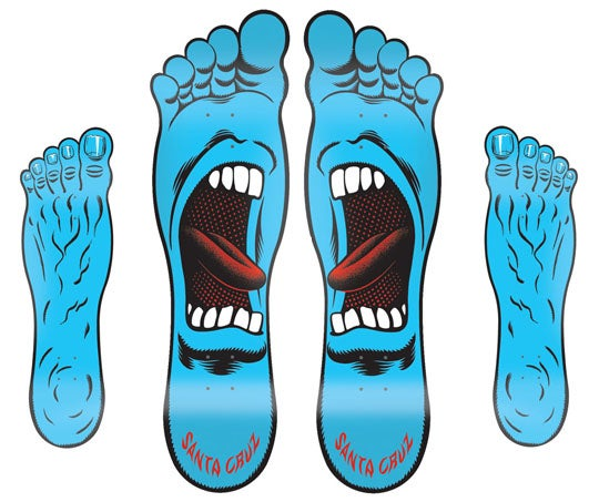 Image of Santa Cruz Screaming Foot Powerply Decks
