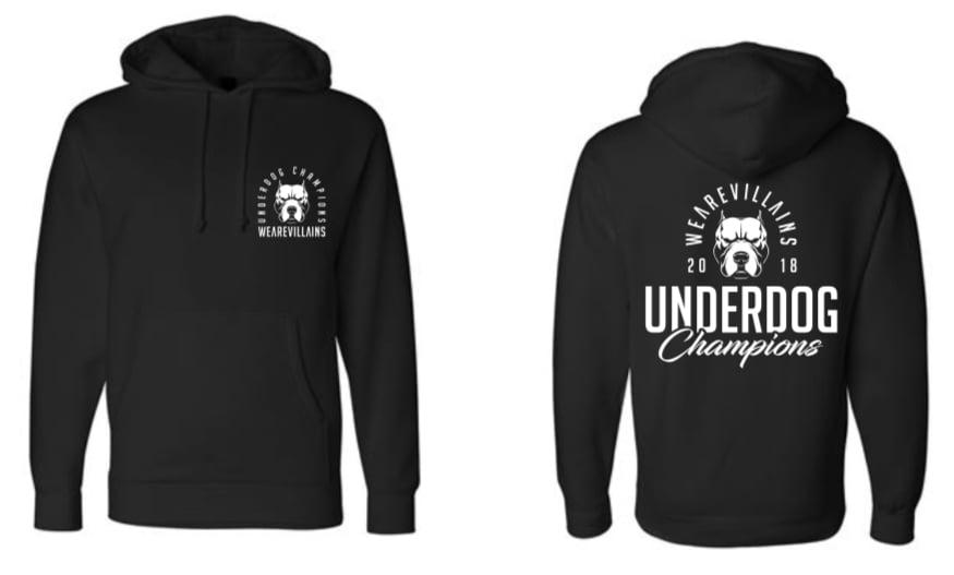 Image of UNDERDOG CHAMPIONS hoodie