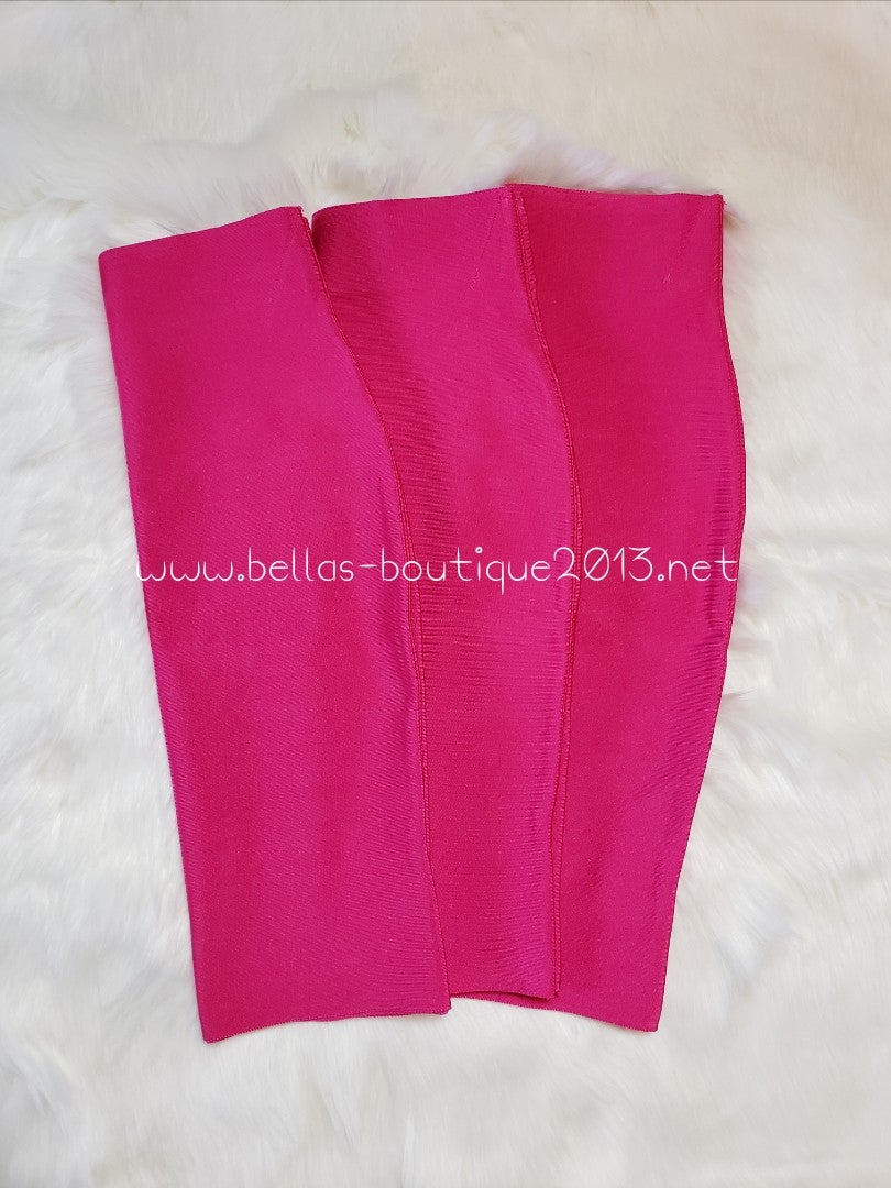 Image of Fuchsia Bandage Skirt