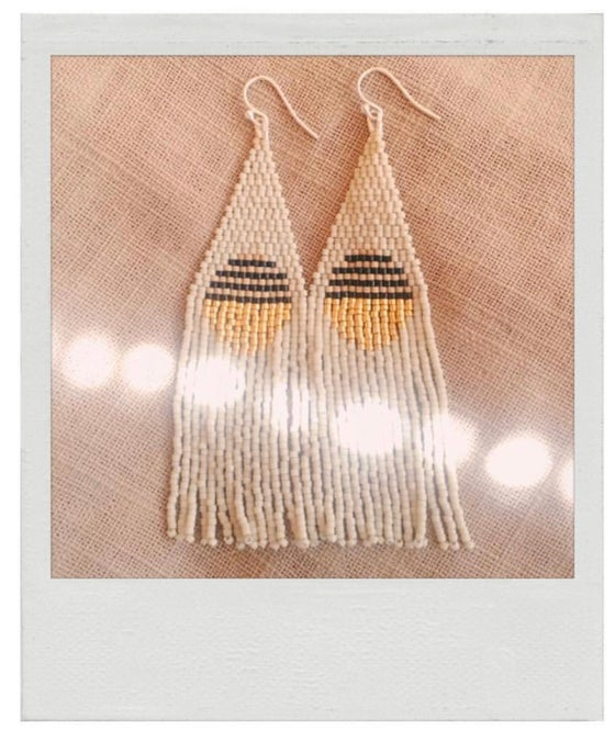 Image of Fondue fringe earrings