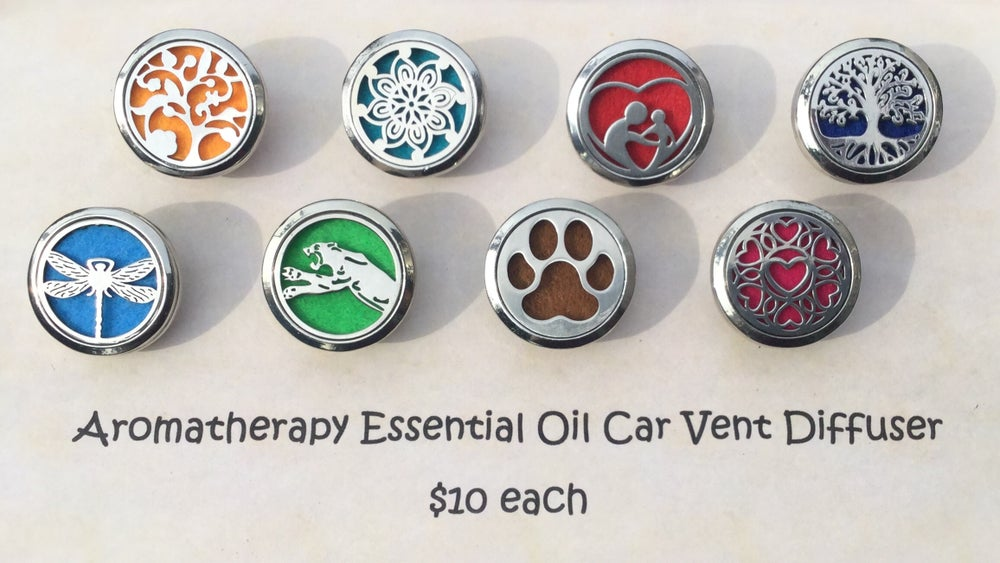 Image of Aromatherapy Car Vent Diffuser