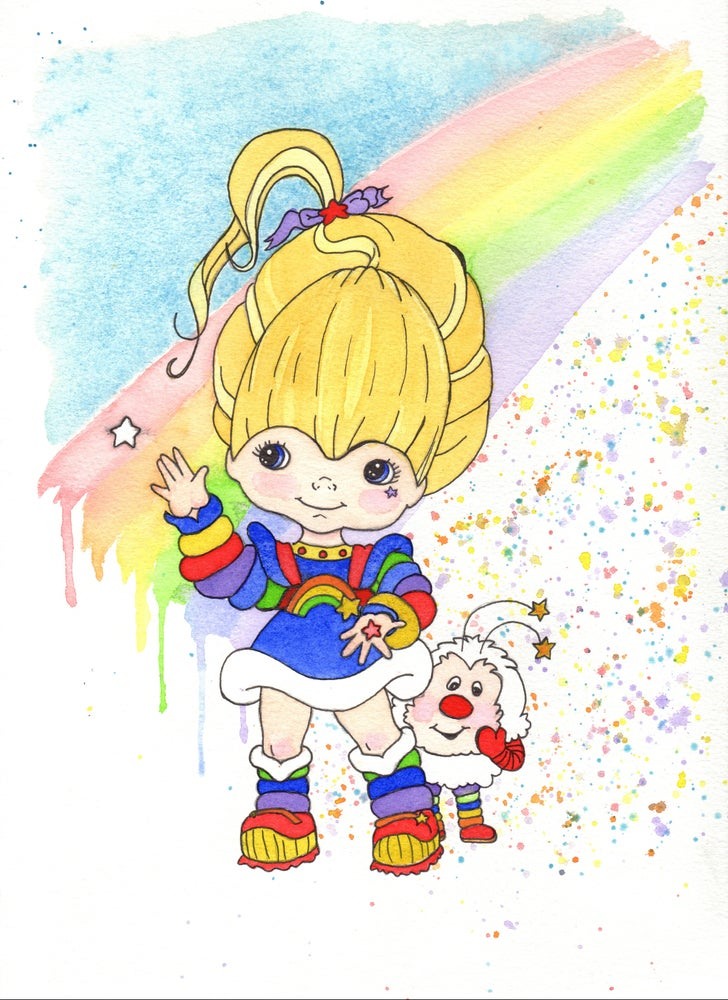 Image of Rainbow Brite and Twink
