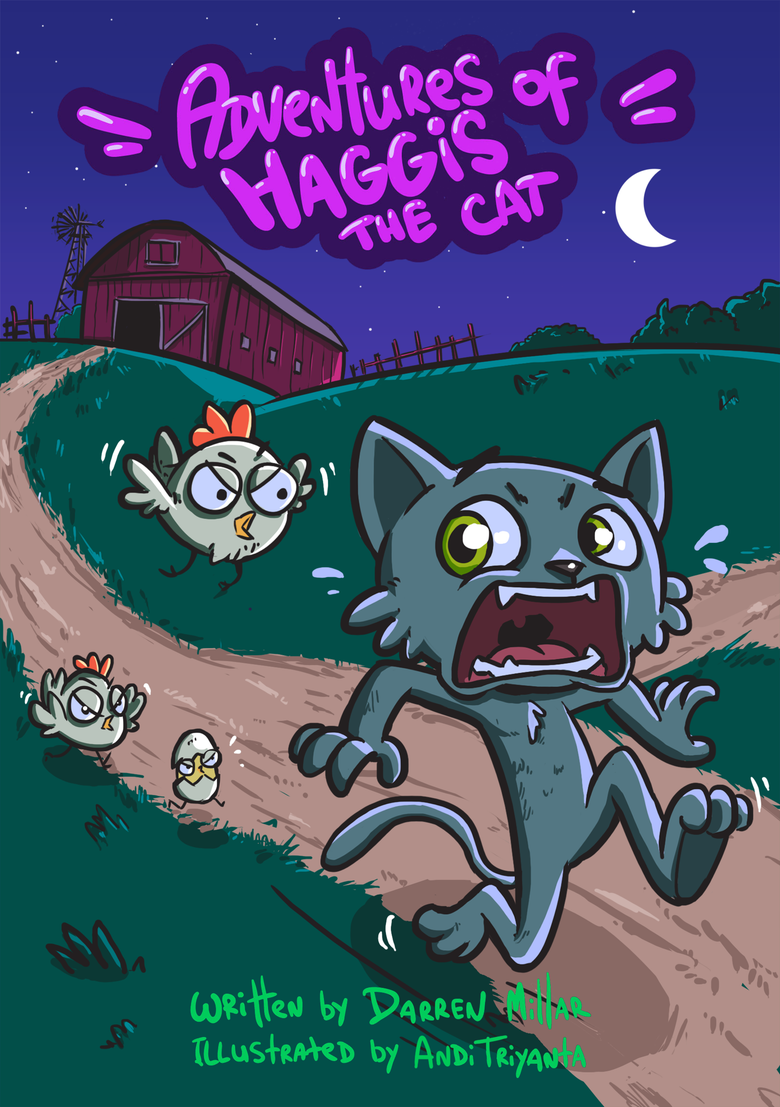 Image of [DIGITAL] Adventures of Haggis the Cat - Episode one