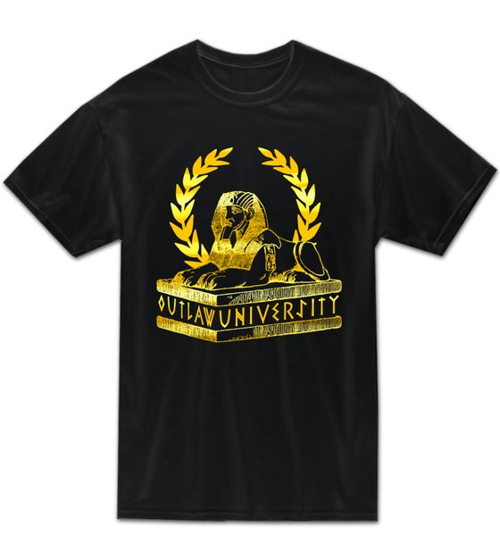 Image of OU Africa Gold Tshirt