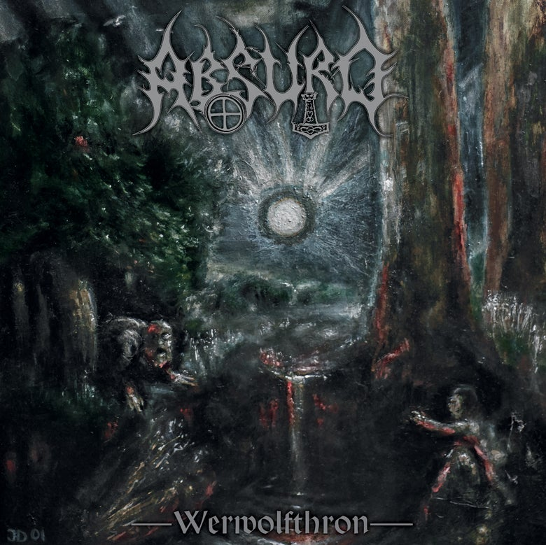 Image of Absurd - Werwolfthron (CD)
