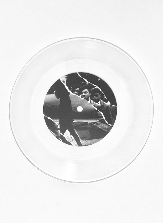 Image of Outer Space and Forgive Me 7 Inch - Clear VINYL