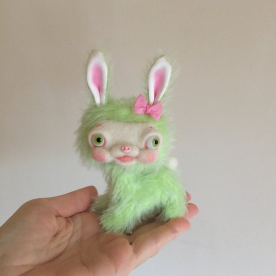Image of Apple the Tiny Yak-faced Bunny