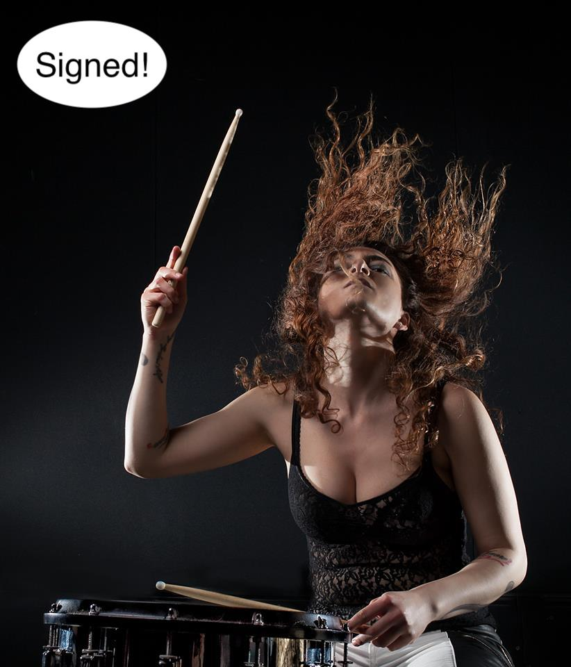 Image of Official SoZo Drum poster - SIGNED