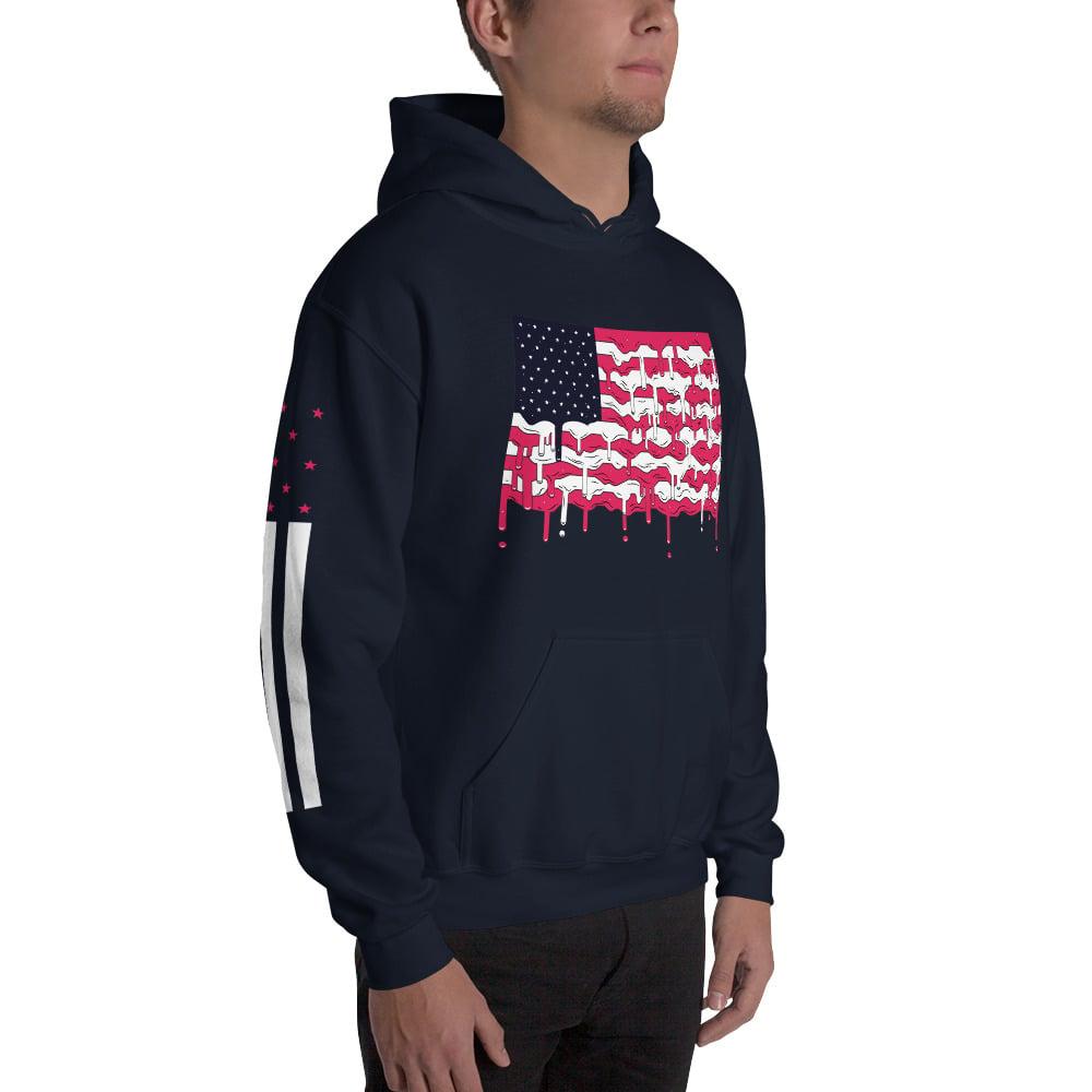 """Image of """"Meltdown"""" Hoodie Sweatshirt"""