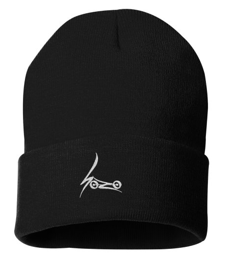 Image of SoZo embroidered beanie