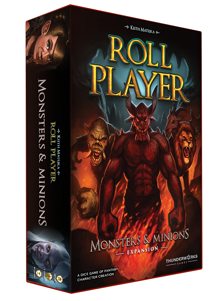 Image of Roll Player: Monsters & Minions Expansion Game