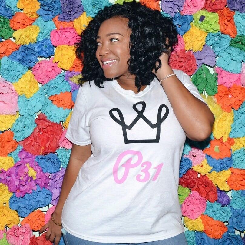 Image of P31 Logo T-shirt (White)