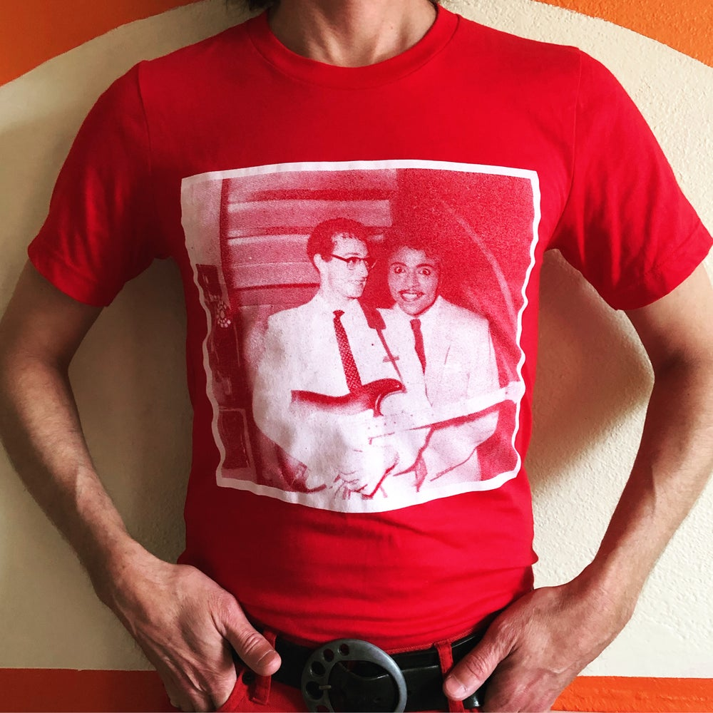 Image of Buddy Holly & Little Richard t-shirt