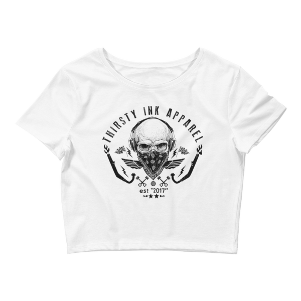 Image of Skull Crop Top
