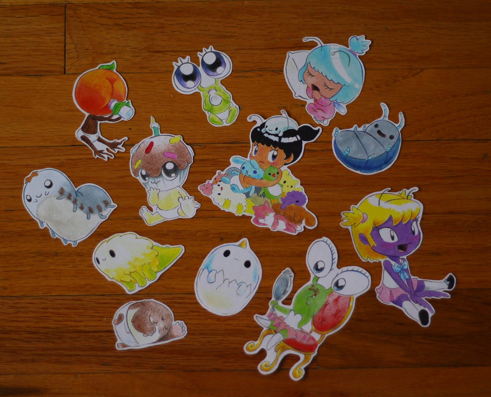 Image of Baby Character Sticker Pack