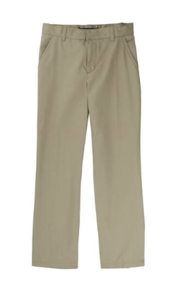 Image of Adjustable Waist Double Knee Pant - Khaki