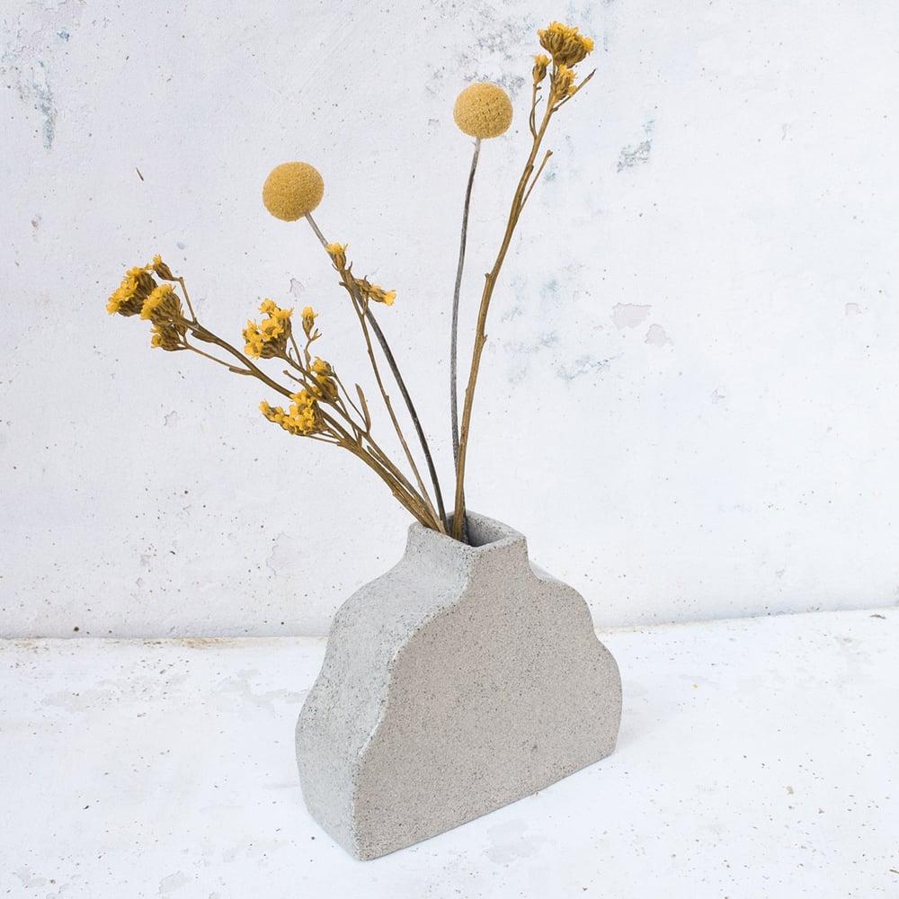 Image of slab vase - the wave