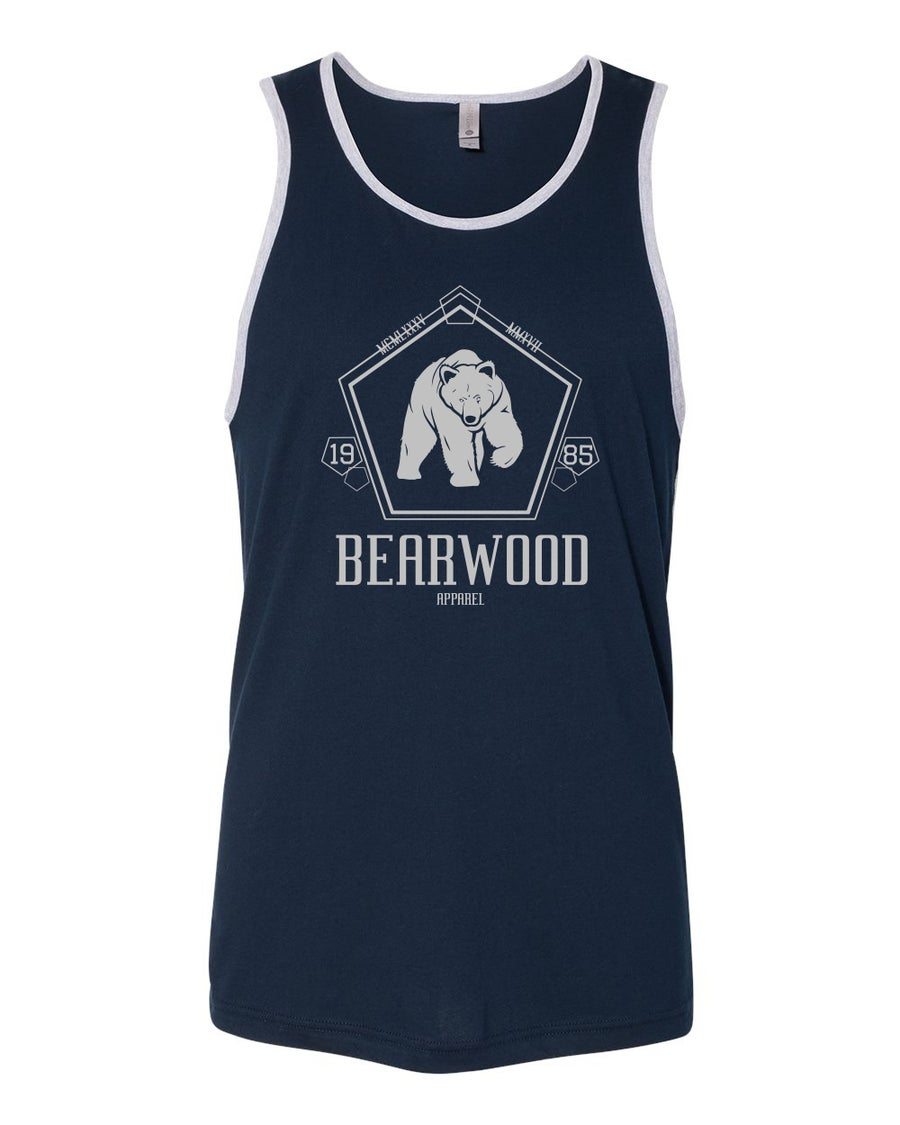 Image of IBC Edition Navy Blue/Grey Tank - NL 3633