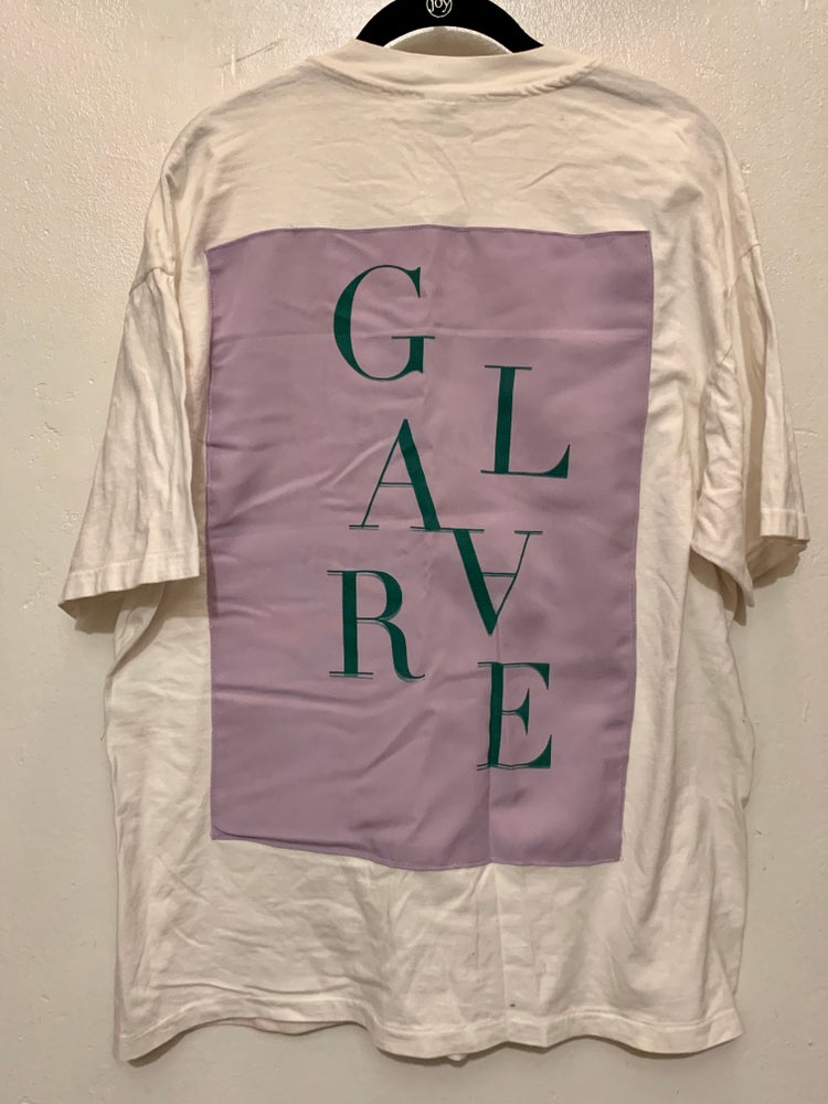 Image of White/Lavender-Green Patch (Single Stitch Vintage) Shirt