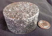 "Image of 5G Ready ""Silver Smoothy"" Orgonite Puck"