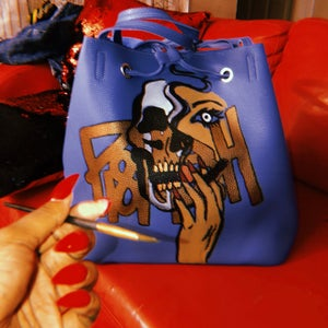 Image of Blue Smoker Tote