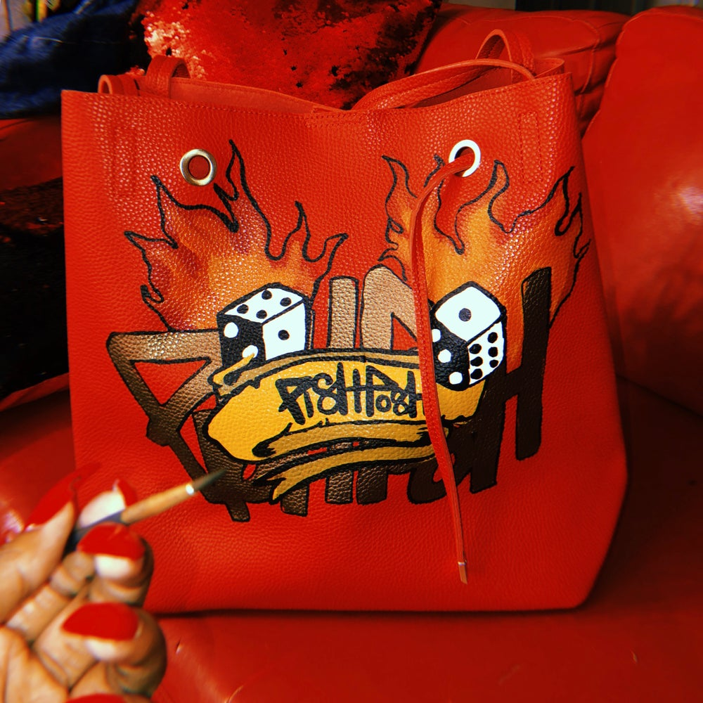 Image of Red Flame Tote