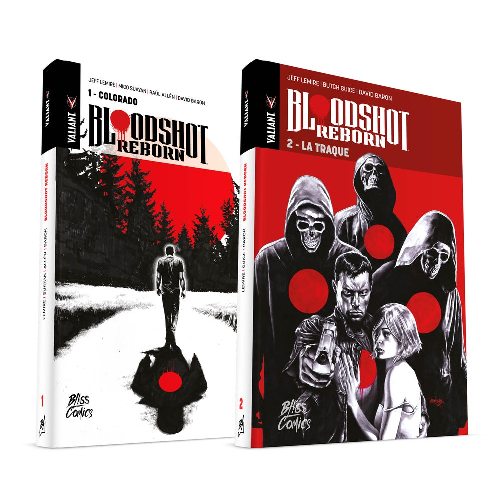 Image of Pack Bloodshot Reborn Tomes 1+2