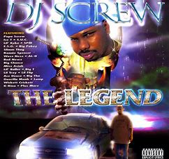 Image of DJ SCREW /// THE LEGEND DOUBLE CD