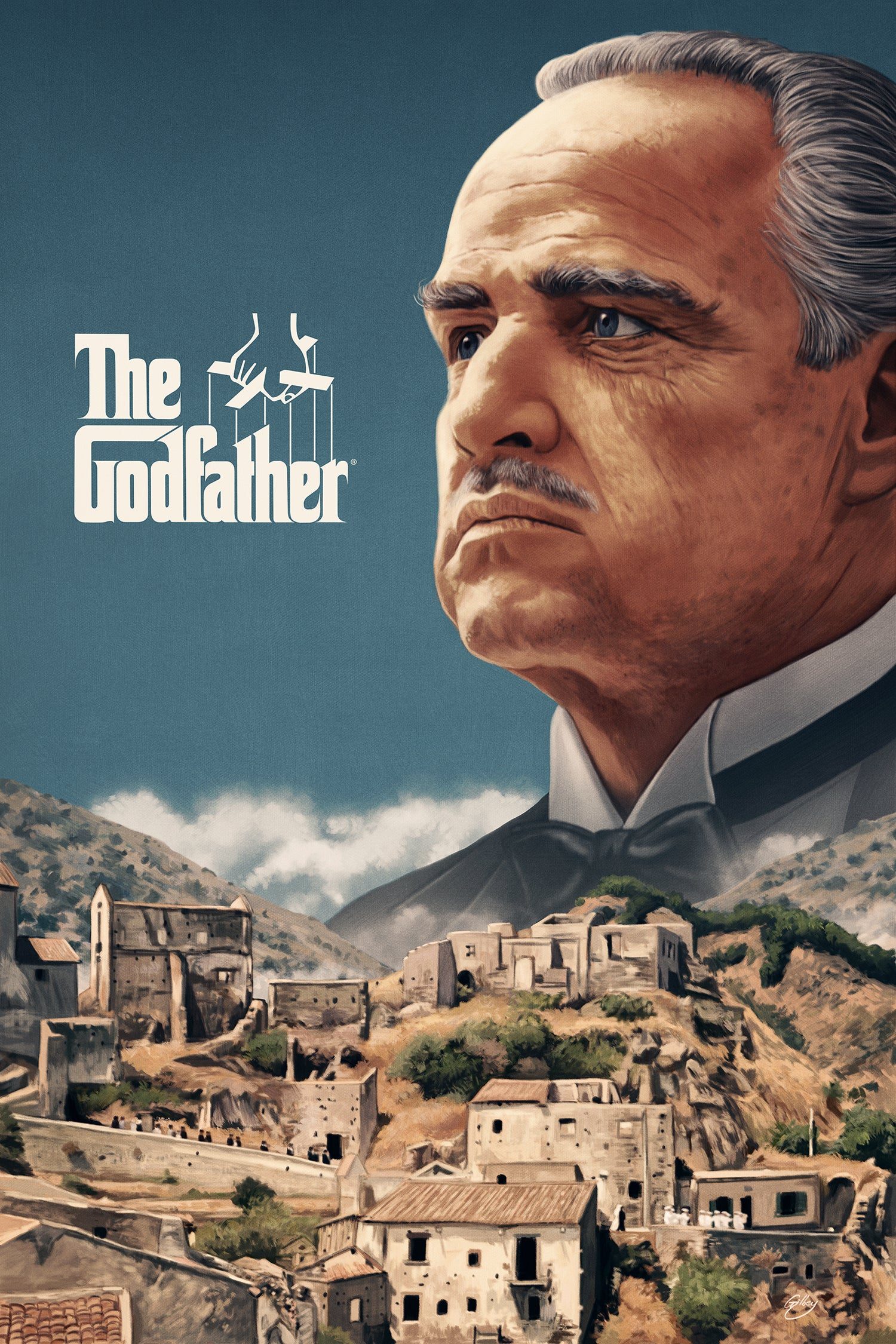 """Image of The Godfather 16"""" x 24"""" (officially licensed artist proof copies)"""