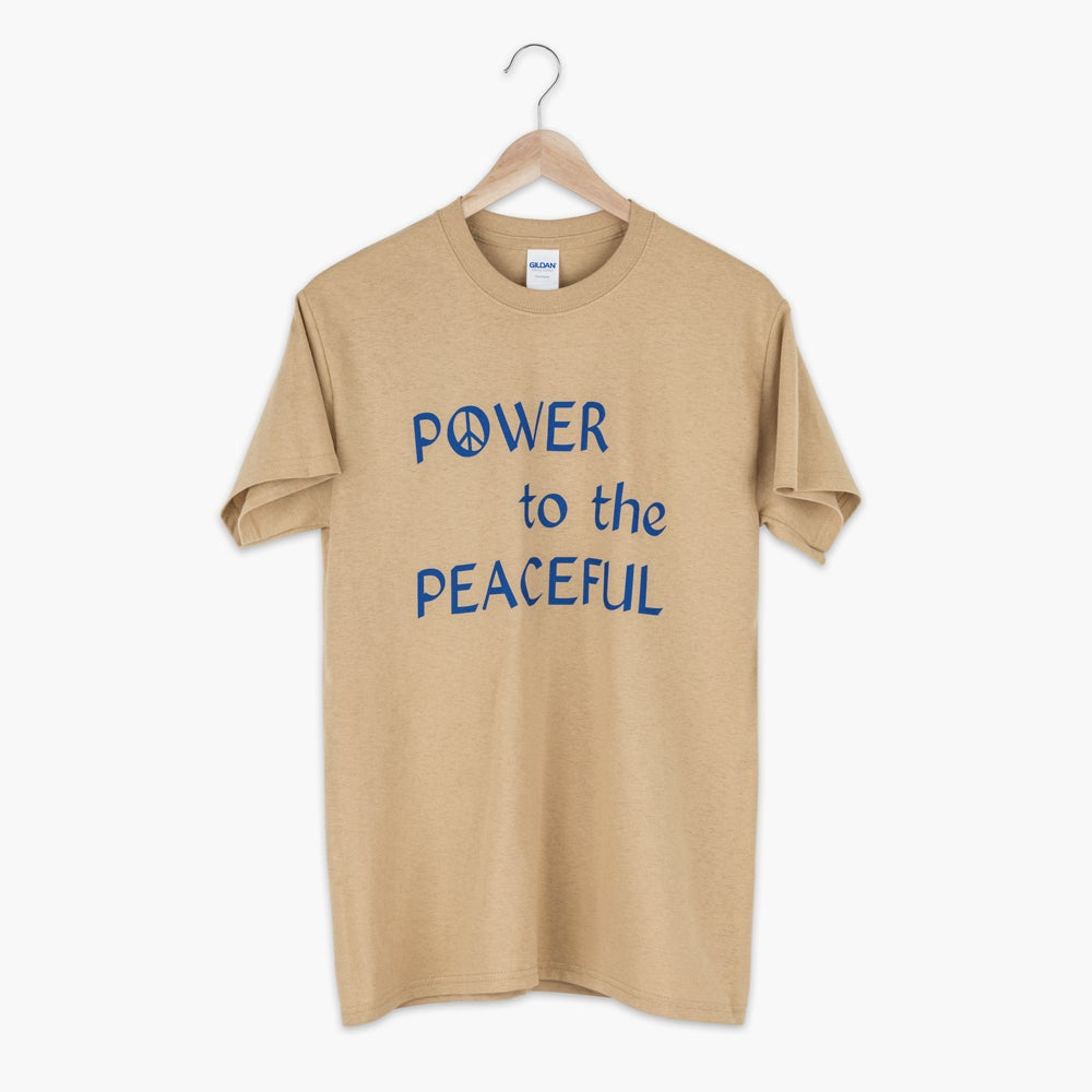 Image of Power to the Peaceful shirt