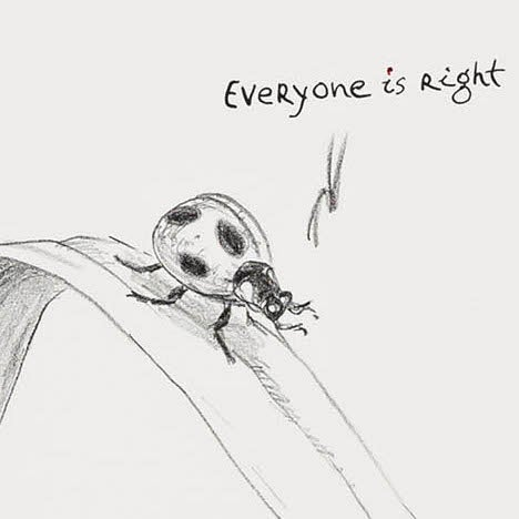 Image of Everyone is right