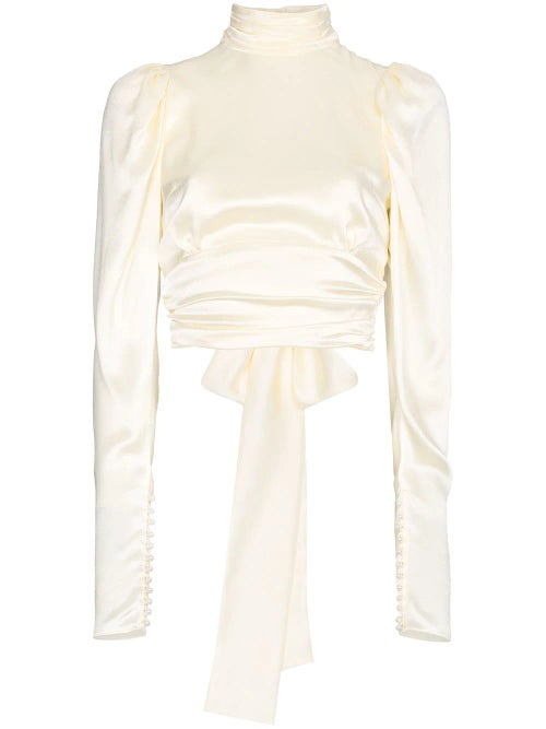 Image of Courtney Blouse - Backless